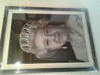 original portrait drawing. Queen Elizabeth ll