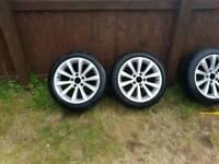 2sets of bmw wheels