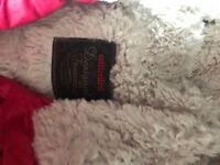 Designer coat aged 5 girls pink