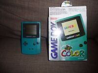 NINTENDO GAMEBOY COLOR HANDHELD SYSTEM
