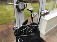 Set of Confidence Right Handed Golf Clubs with Bag