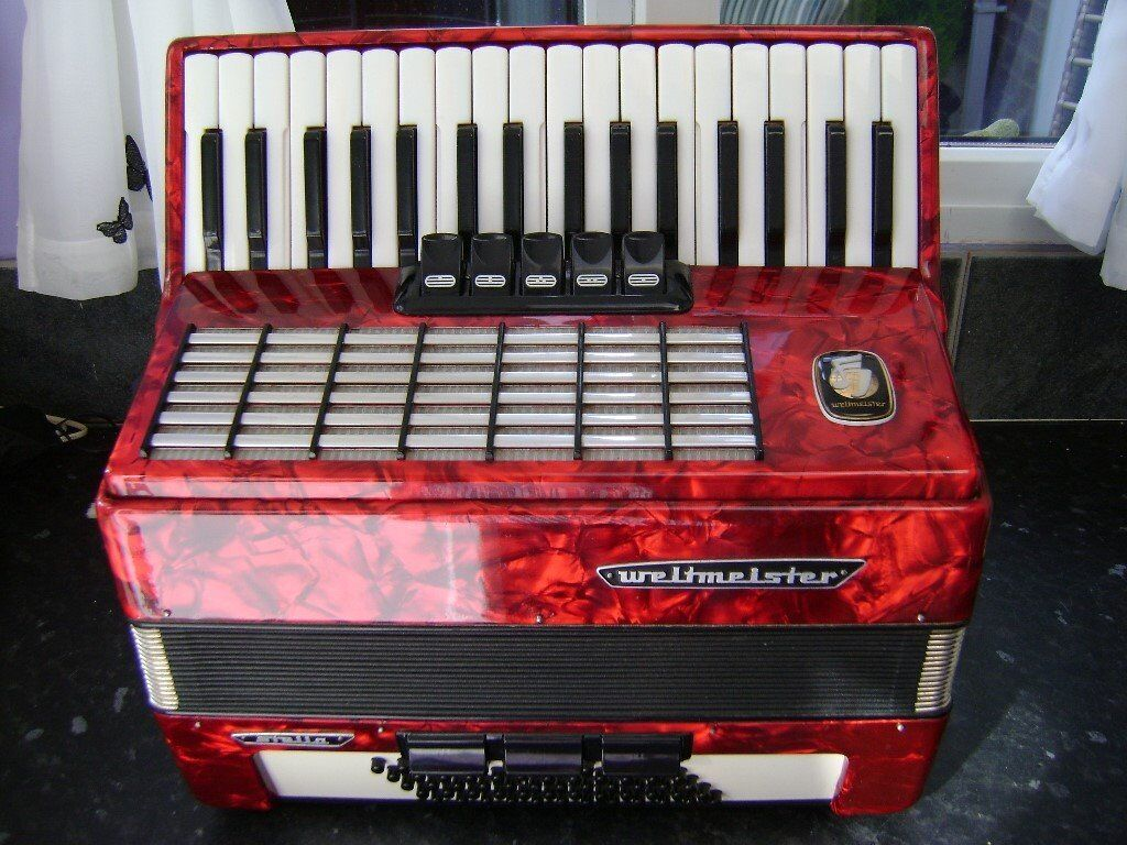 weltmeister 60 bass accordion german model