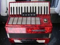 weltmeister 60 bass accordion german model