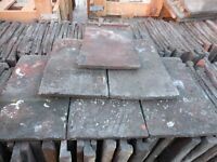 RECLAIMED ROOF TILES ROSEMARY TYPE STAFFORDSHIRE BLUE 20p each
