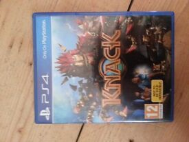 Ps4 game knack used mint