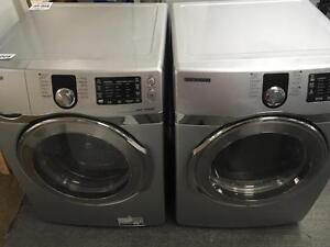 52- SAMSUNG VRT STEAM Laveuse Secheuse Frontales Frontload Washer Dryer