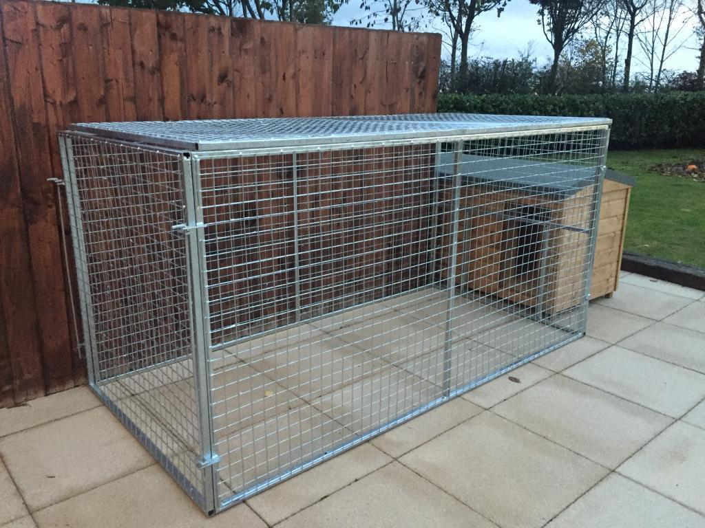 Galvanised 8x4x4ft dog pen. Dog run.