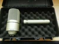 Vocal MXL Phantom and Guitar/Drum microphone (Reduced)
