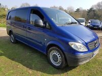 Mercedes-Benz Vito 2.1 111CDI Dualiner Long Panel Van 5dr , 6 Seater , Air Con