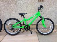 Ridgeback MX20 child's mountain bike with suspension.