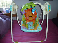 Fisher Price precious planet open top swing (make an offer!)