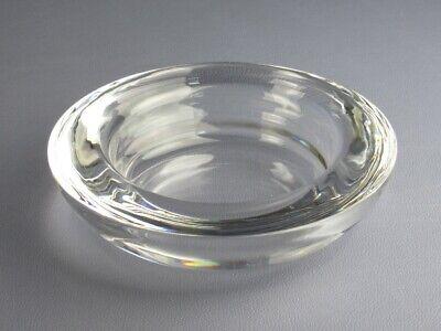 Arnolfo Di Gear Vase Ashtrays Crystal Signed Design Xx Century