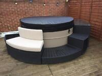 Canadian Swift Spa ( Hot Tub) and furniture
