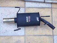 1.0L Corsa BACKBOX and Straight Pipe. Bargain