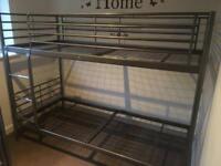 Ikea SVÄRTA Metal Bunk Beds
