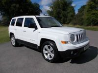 2011 60 JEEP PATRIOT 2.2 CRD SPORT PLUS 4X4 IN BRILLIANT WHITE CALL 07791629657