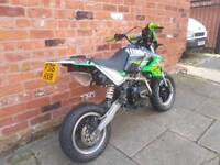 2016 Bosuer BSR 125cc (ROAD LEGAL PITBIKE)