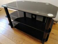 Black Curry's TV stand