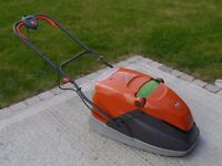 Flymo Vision Compact 350 Plus hover mower.