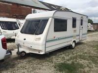 4 BERTH STERLING EUROPA WITH MORTOR MOVER FULL AWNING WITH END BATHROOM AND WE CAN DELIVER