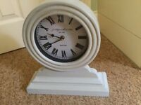 SHABBY CHIC MANTEL CLOCK