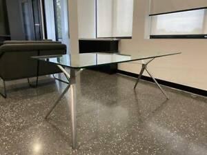 Forza Executive (Italian) Modern Glass Desk