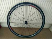 Shimano WH R500 Front wheel c/w qr, tyre & tube