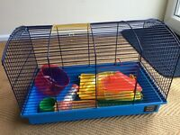 Two cages suitable for hamster or small pet.
