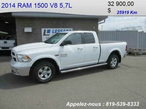2014 RAM 1500 OUTDOORSMAN  CAMÉRA RECUL BLUETOOTH