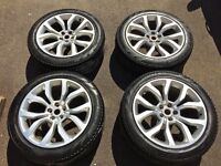 Range Rover Sport AUTOBIOGRAPHY Style 5 Split Spoke 21 inch OEM wheels and tyres