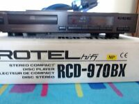 ROTEL RCD-970BX CD PLAYER WITH REMOTE AND ORIGINAL BOX