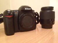 Nikon D50 Camera w/ 18-55mm kit lens, Lowepro bag
