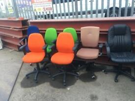 High quality office swivel chairs on clearance just £10 each