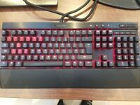 Corsair K70 Red LED Mechanical gaming keyboard w/ red mx switches