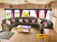Cheap 2 bed 12ft wide DG & CH caravan with 2018 fees! NE63 9YD