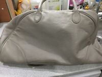 Leather weekend bag from ford Ka
