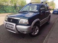 Suzuki grand vitara 4/4 2005 12 month mot - diesel- 6 speed