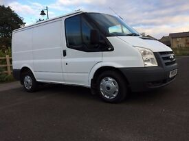 Ford Transit Van 2010 swb - Very low miles - Stunning Condition - 1 owner - Full service History