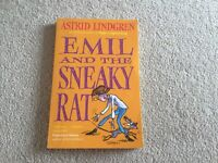 Emil and the Sneaky Rat book by Astrid Lindgren