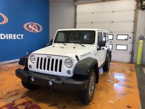 2015 Jeep Wrangler Unlimited Rubicon RUBICON! 6 SPEED/ LEATHE...