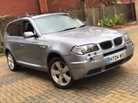 BMW X3 2.5 SPORT AUTOMATIC PETROL EXCELLENT DRIVE SPACIOUS TOP SPEC 4X4 NOT QASHQAI X5 FREELANDER M