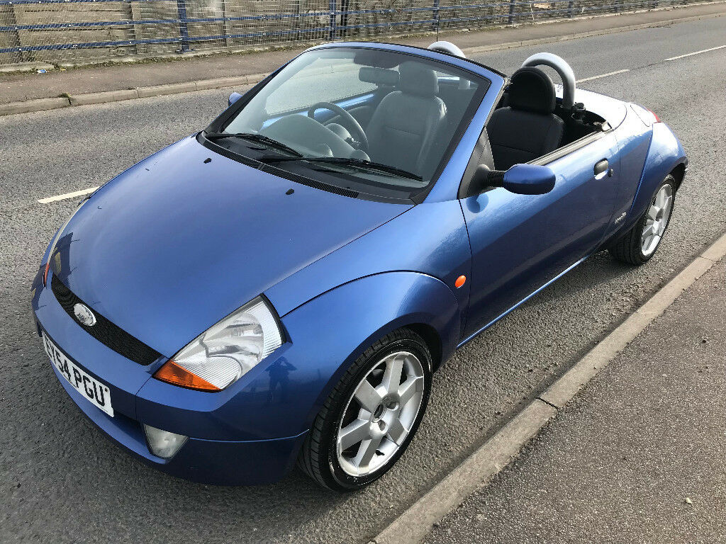 Heated Seats Air Con   Ford Convertible Ka Street Luxury Top Spec