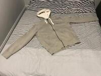 POLO Ralph Lauren Grey Zip Up Hoodie