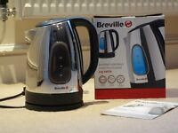Breville Polished Stainless Steel Illuminated Jug Kettle 1.7 Litres - Boxed