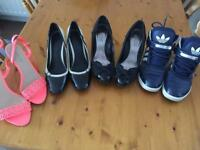 Ladies Shoes / High Heels / Trainers