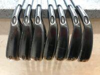 """Callaway Steelhead XR Pro 4-PW irons - KBS C-Taper Lite Stiff Shafts 2up 1/2"""" Longer"""