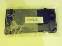 Mens Kirkland Boxer Briefs. 2 Pairs. 1 Black, 1 Grey. Size Medium