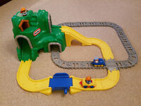 Little Tikes track and road set