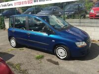 Fiat multipla 6 seater 1.9 diesel 2005 PX WELCOME