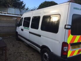 Renault Master Ambulance with drop down ramp